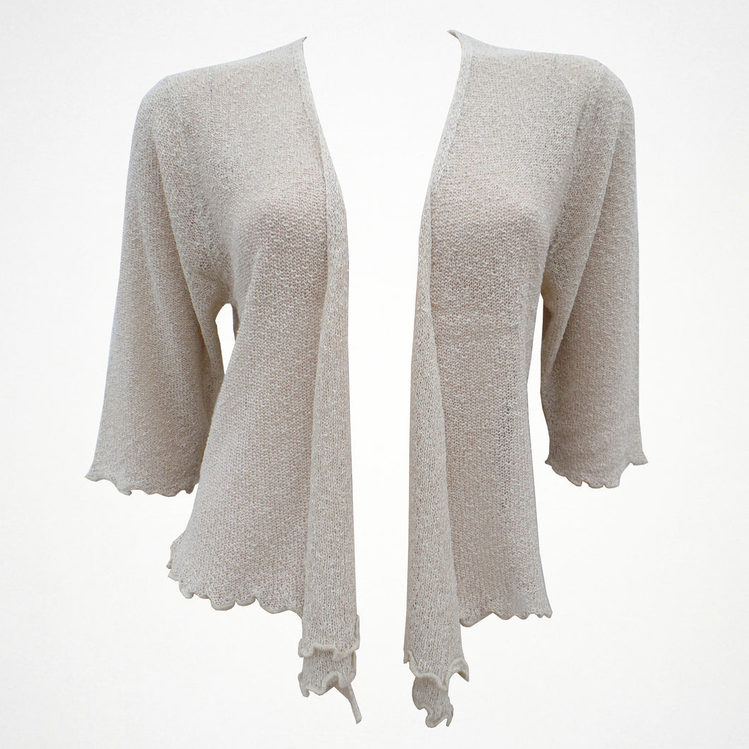 Plain Beige Shrug