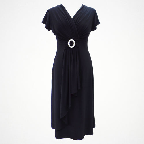 Saloos Black Cocktail Dress