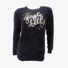 Black Jingle Bells Christmas Jumper