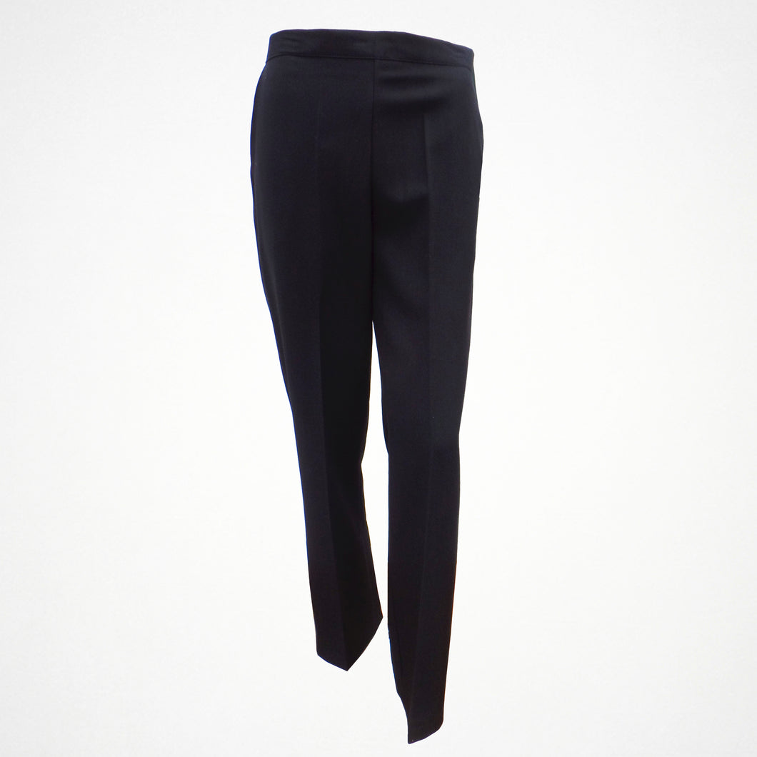 Black Elasticated Trousers