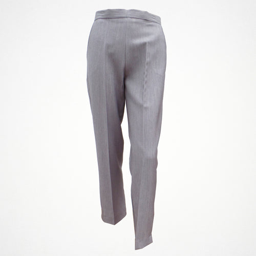 Grey Tapered Trouser With Elasticated Back
