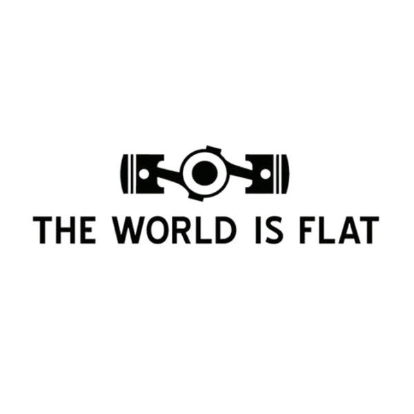 The World Is Flat - Dekal - Norgesmerket.no