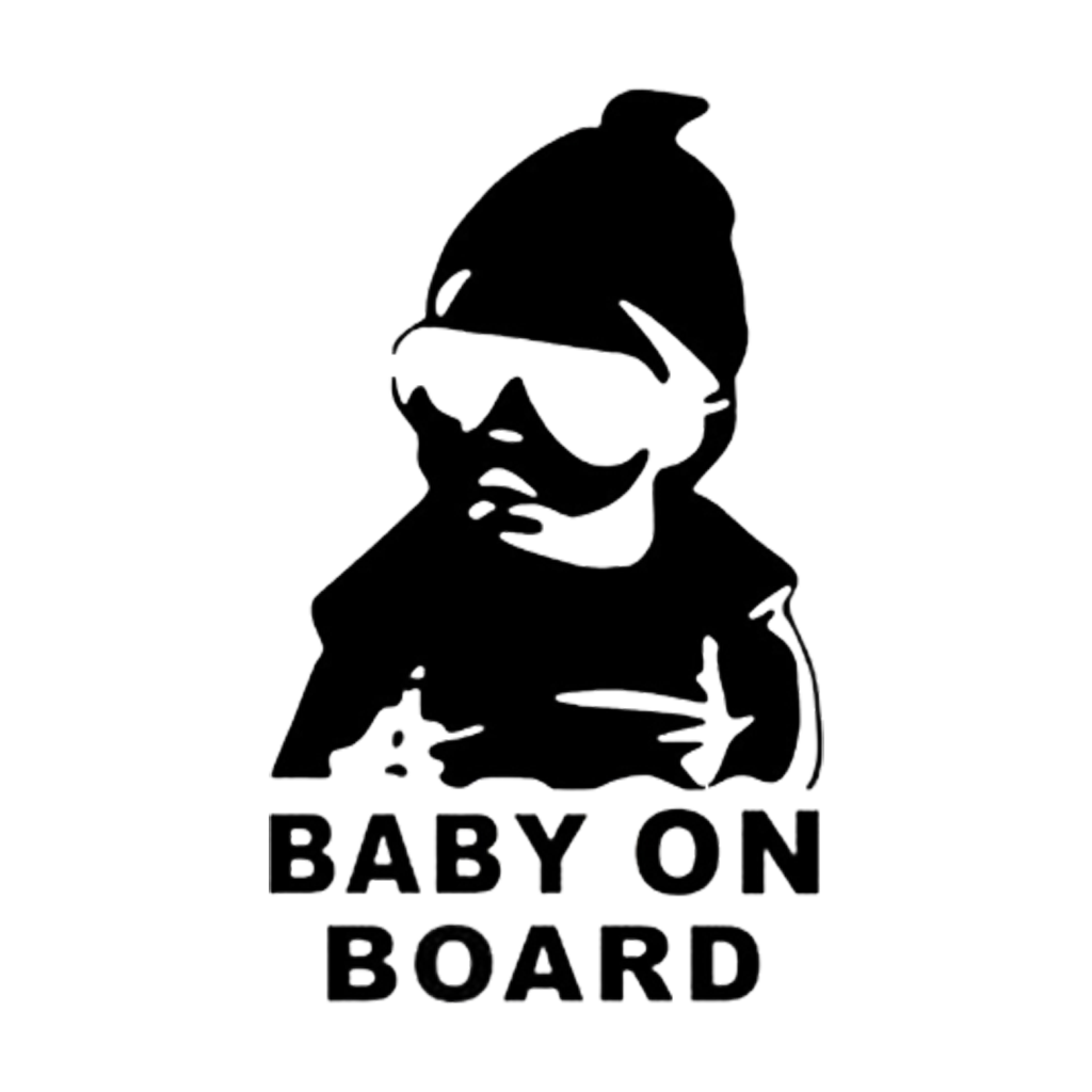 Baby On Board - Dekal - Norgesmerket.no