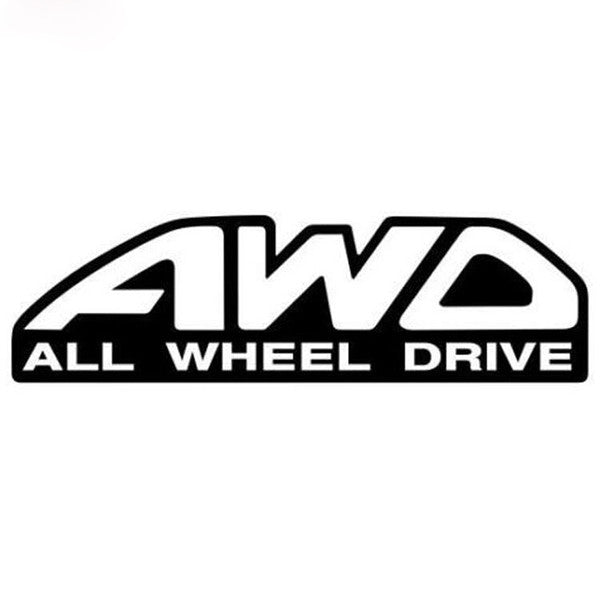 AWD - All Wheel Drive - Dekal - Norgesmerket.no