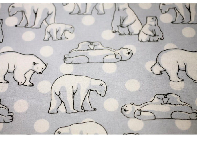 Polar Bear - Flannelette - Fitted Sheets