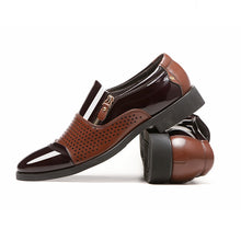 Hollow-out Pointed Air Permeability Men's Formal Shoes