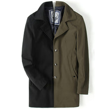 Comfortable Brief Loose Long Men's Trench Coat