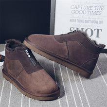Antislip Zippered Wear Resistant Men's Boots