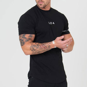 Sports Short-sleeved Cotton Men's T-shirt