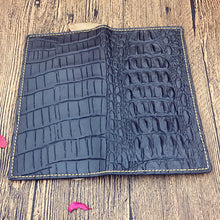 Vintage Alligator Long Man's Wallets