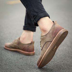 Casual Round Head Business Shoes