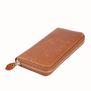 Vintage Top Layer Leather Fashion Casual Wallet