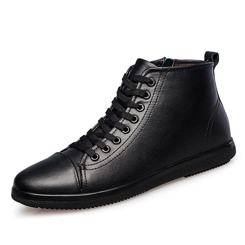 Multi Purpose Wear Resistant Solid Color Men'a Casual Shoes