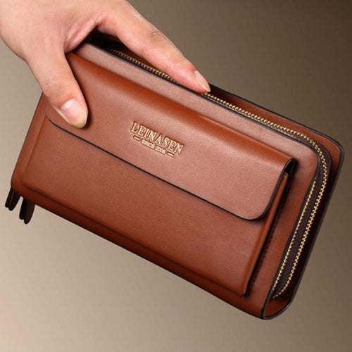 Fashion Double zipper Multifunction wallets