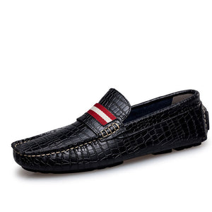 Absorbent Light Croco Men's Casual Shoes