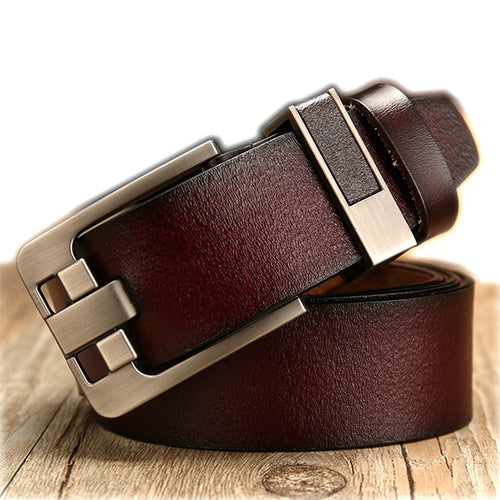 Vintage Comfortable Cow Leather Men's Belts