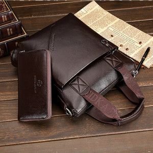 Cow Leather Business Briefcases
