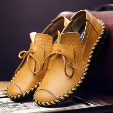 Fashion Casual Hand-made Leather Shoes