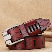 Cow Leather Sculpture Belts