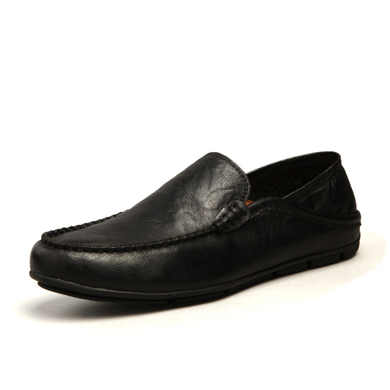 Large Size Ventilated Driving Comfort Men's Loafers