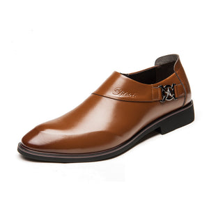 Business Pointed Men's Shoes