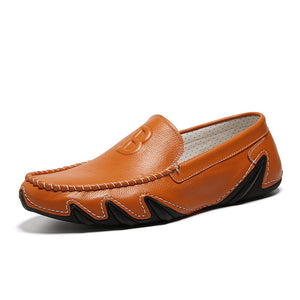Leather Soft Sole Casual  Breathable Shoes