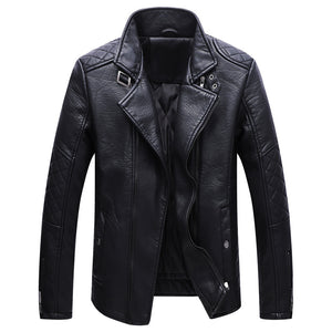 Plain Lapel European Simple men jacket