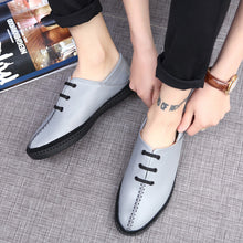 Real Leather Breathable Men's Shoes