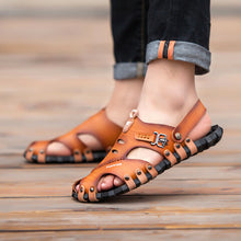 Beach Leather  Anti-skid Sandals
