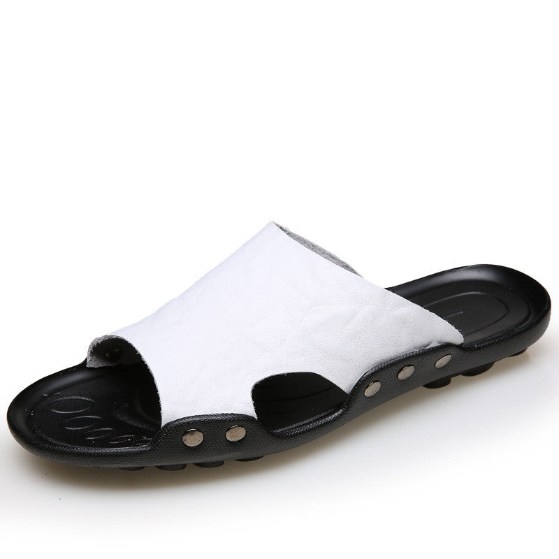 Leather Beach Leisure Sandals