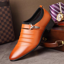 Business Breathable Leather Shoes