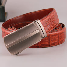 Alligator Pattern Business Belts