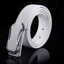 Smooth Buckle Belt Casual Men's Belt