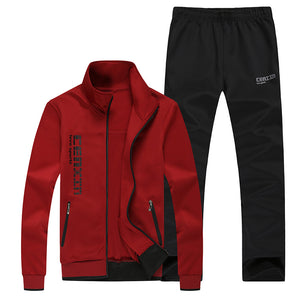 Breathable Sporty Long Sleeve Men's Sports Suit