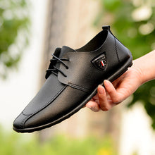New Lace-up Casual Leather Shoes