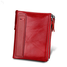 Men's Casual Leather Short Wallet