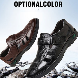Large-size Hollow-out Ventilated Outdoor Men's Sandals
