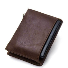 Real Leather Vintage Casual Wallet