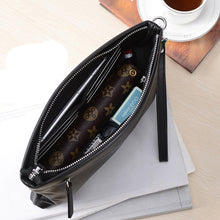 Casual Zipper Real Leather Handbag