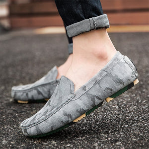 Korean Version  Frosted Casual Leather Shoes