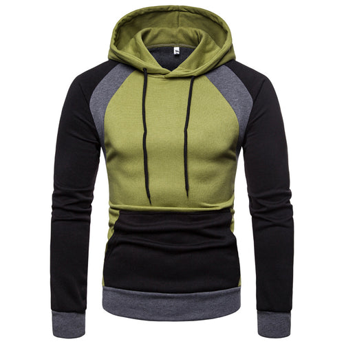 Stitching Cultivation Comfortable Outdoor Sports Men's Hoodie