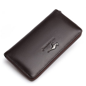 Leather Business Long wallet