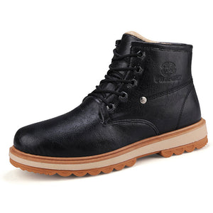Waterproof Wear Resistant Warm Men's Boots