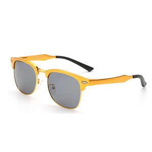Square Alloy Driving Sunglasses