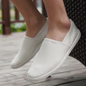 Breathable Linen Comfort Men's Loafers