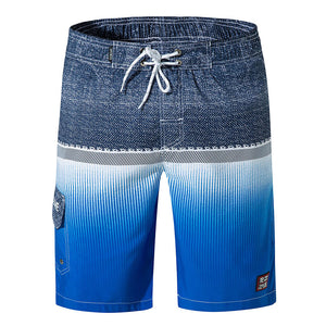 Beach Leisure Printing Men's Pants