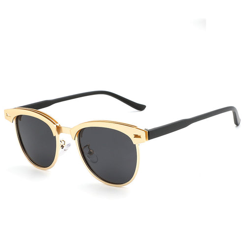 Half-rimmed Polarized Sunglasses