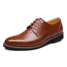 Real Leather Crocodile Fashion Leather Shoes