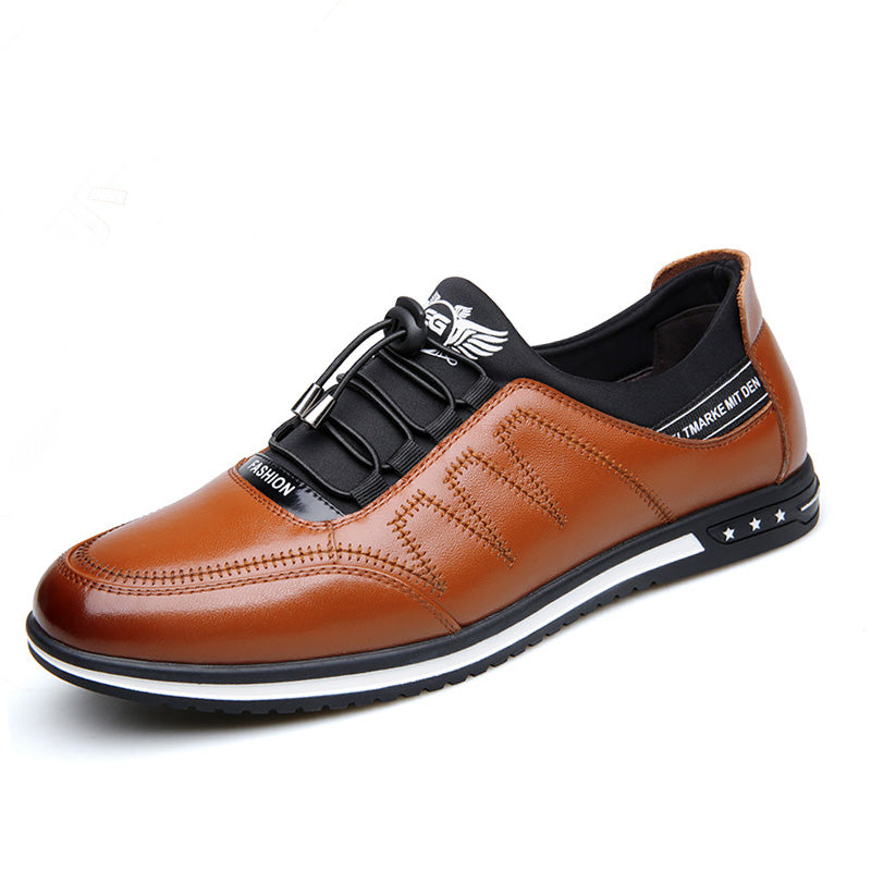Casual Fashion Young Leather Shoes