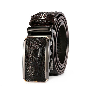Crocodiles Automatic Buckle Belts